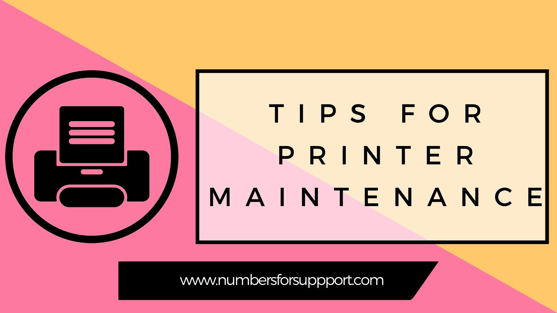 Tips for Epson Printer Maintenance