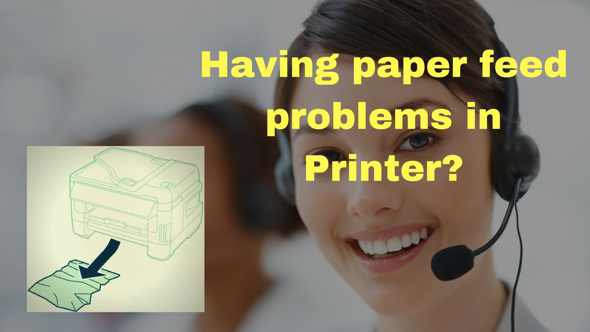 paper feed problems Brother Printer