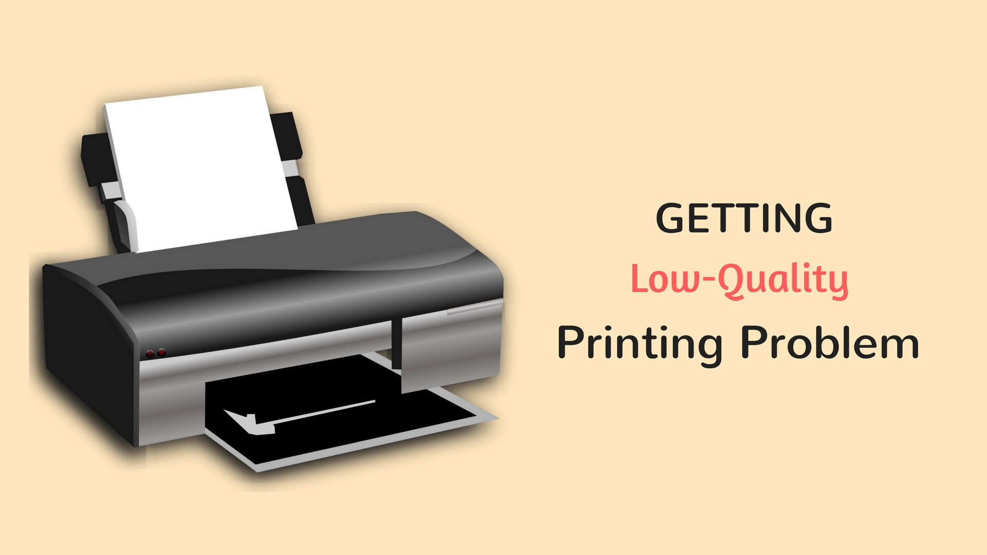 low quality printing problem in canon printer