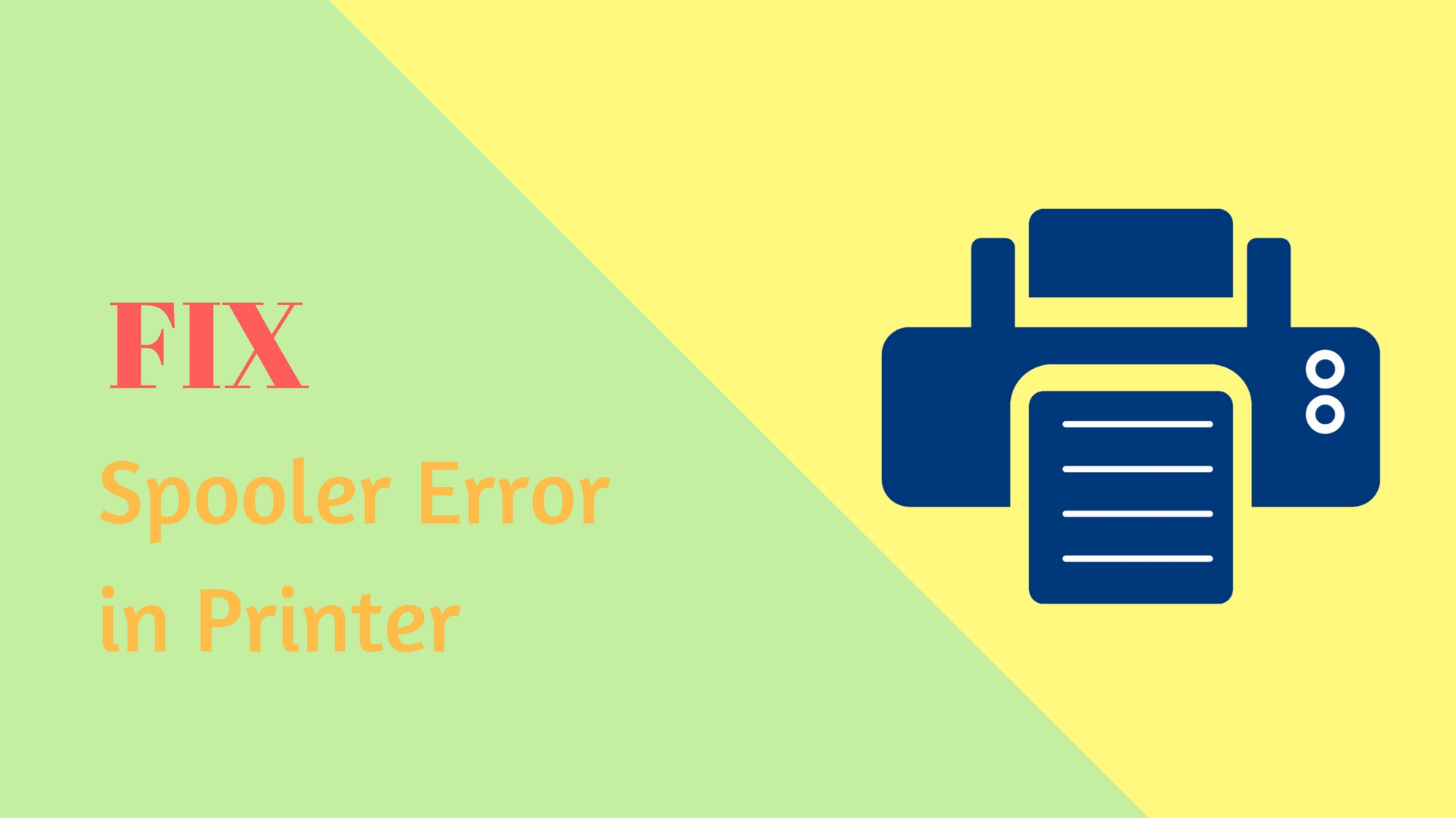 fix Spooler Error Canon Printer