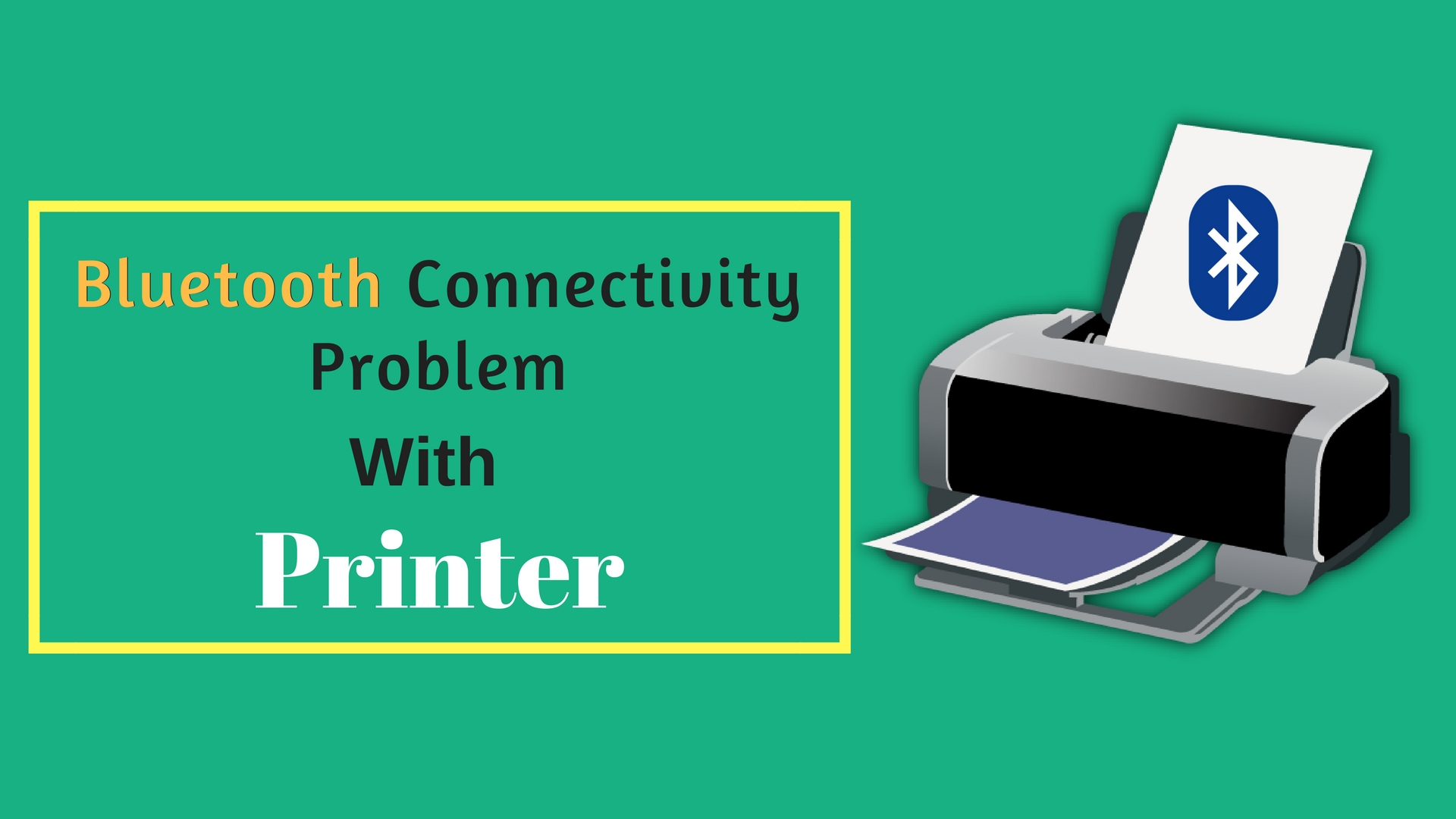 Bluetooth Connectivity Problem with Brother Printer