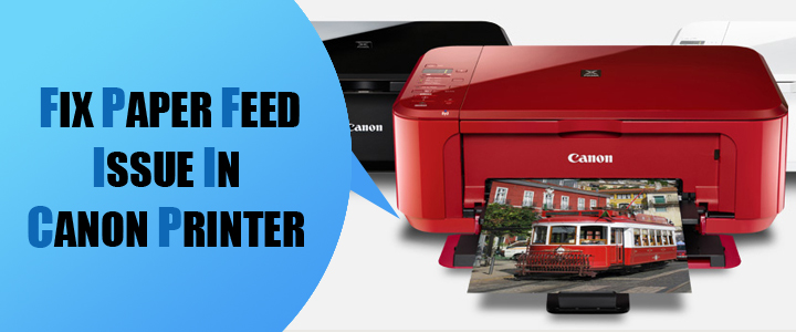 Fix Paper Feed Issue Canon Printer