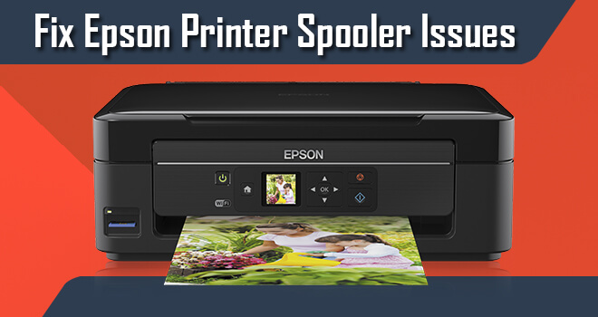 fix epson printer spooler