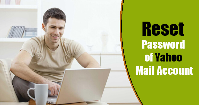reset yahoo mail password