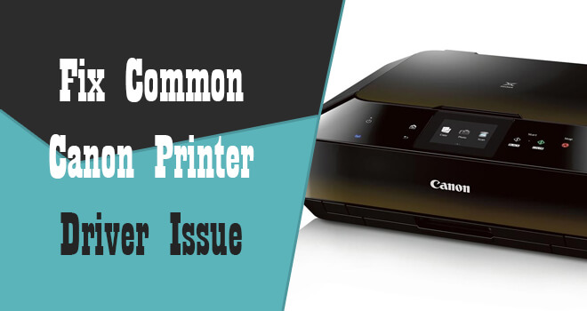 fix canon printer driver issue