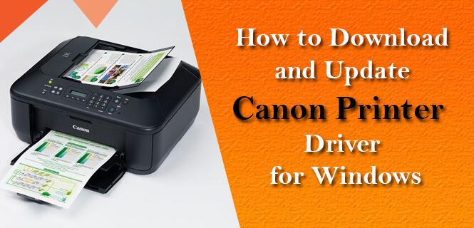 download canon printer driver for windows
