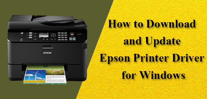 download Epson printer driver for windows