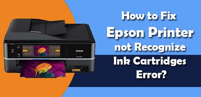 Epson Printer Ink Cartridges Error