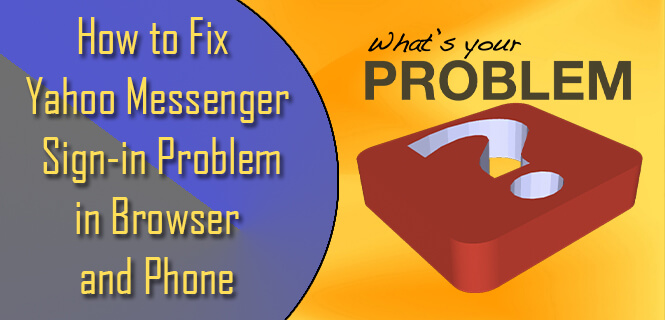 fix yahoo messenger signin problem in browser and phone
