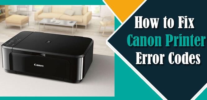 Canon Printer Error Codes