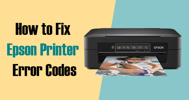 Fix Epson Printer Error Codes