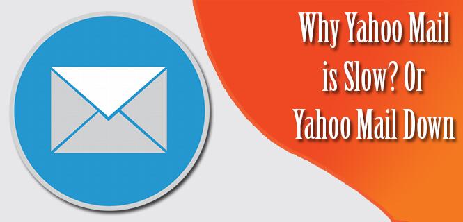 yahoo mail slow, yahoo mail down