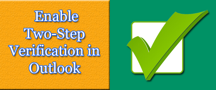 two-step verification in outlook