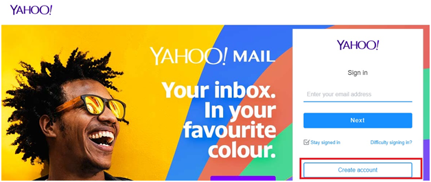 change yahoo mail address